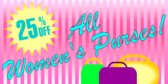 Women's Purses Sale