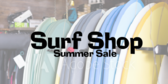Surf Shop Season Sales Message