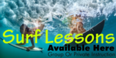 Surf Lessons Available Here
