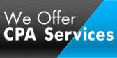 We Offer CPA Service