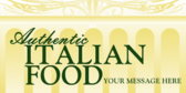 Generic Authentic Italian