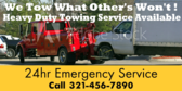 Heavy Duty Towing Service Available