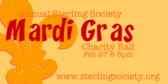 Annual Sterling Society Mardi Gras Charity Ball