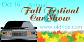 Annual Fall Fest Car Show