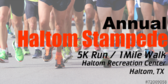 Annual Stampede 5k Run/ 1mile Walk