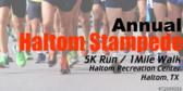 Annual Stampede 5k Run/ 1mile Walk