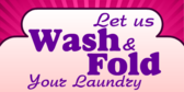 Let Us Wash and Fold Your Laundry