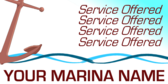 Generic Marina List of Services