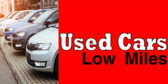 Used Cars With Low Miles