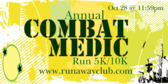 Annual Combat Medic Run 5K/10K