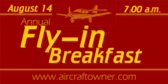 Annual Fly-in Breakfast