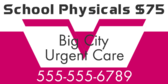 School Physicals w/Price