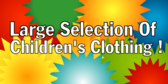 Large Selection Of Children Clothing