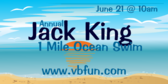 Annual Jack king 1Mile Ocean Swim