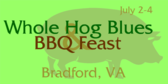 Annual Whole Hog Blues & BBQ Feast