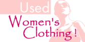 Used Womens Clothing Message