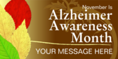 Generic Alzheimer Awareness Month