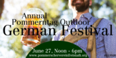 Annual Outdoor German Festival