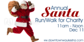 Annual Santa Run/Walk for Charity