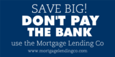 Don't Pay the Bank, Use Us Instead