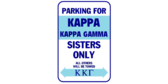 Parking for kappa kappa gamma sisters only
