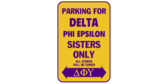 Parking for delta phi epsilon sisters only