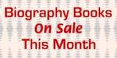 Biography Books on Sale This Month