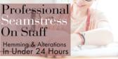 Seamstress On Staff