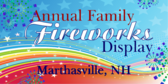 Annual Family Fireworks Display