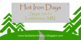 Annual Hot Iron Days