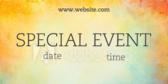 Generic Special Event