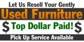 Resell Used Furniture