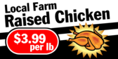Local Farm Raised Chicken