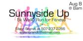 Annual Sunnyside up 5K walk/run for fitness