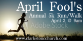 April Fool's Annual 5K Run/Walk