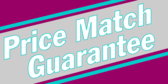 Price Match Guarantee Message