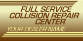 Generic Collision Repair