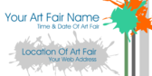 Your Art Fair Date And Time