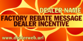 Generic Factory Rebate