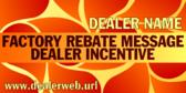 Generic Factory Rebate