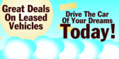 Great Deals on Leased Vehicles