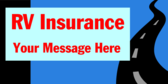RV Insurance Your Message Here