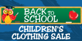 Children's Clothing Sale Back To School