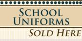 school uniform childrens clothing signs