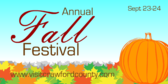 Annual Crawford County Fall Festival