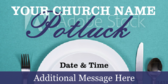 Church Pot Luck Date And Time