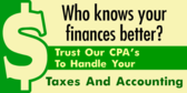 Finances CPA Services