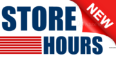 New Store Hours Message