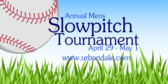 Annual Mens Slowpitch Tournament