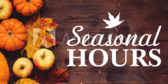 Seasonal Hours